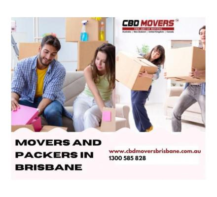 Movers and Packers in Brisbane Make Every Move Easy