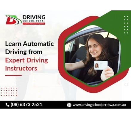Become a trained automatic driver and claim your driving license on the first attempt.