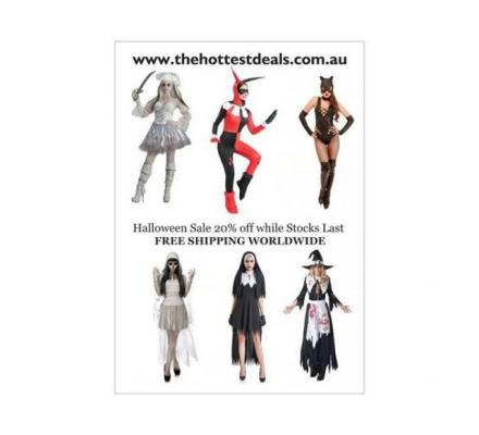 Halloween Costumes On Sale 20% Off