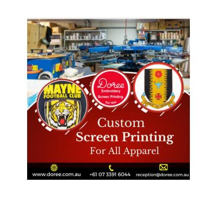 One-Stop-Solution for Screen Printing | Doree