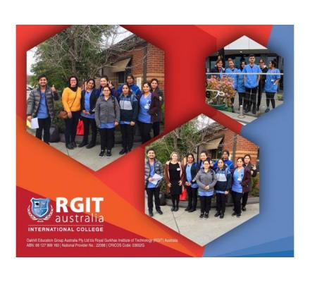 RGIT Hobart is The Globally Preferred Educational Institute by Students