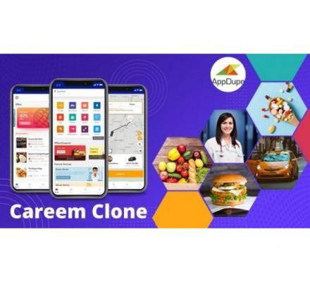 Get Hold Of Our Robust Careem Clone Right Away!