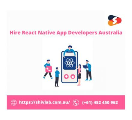 Hire React Native App Developers from Australia