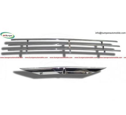 Saab 92, 92B grille front pieces stainless steel