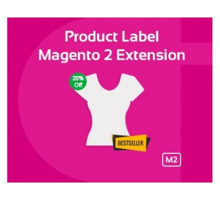 MAGENTO 2 PRODUCT LABEL