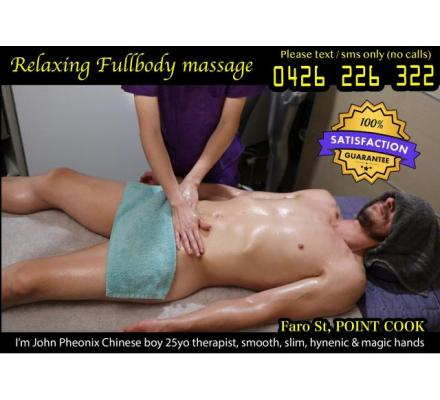 Faro St, Point Cook ❌ Male Massage by Male Therapist
