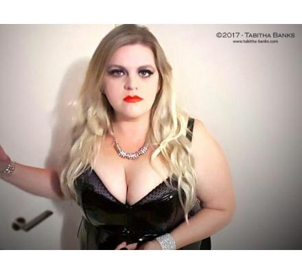 Strict Voluptuous American Goddess - Mistress Tabitha Banks - Real  Domination