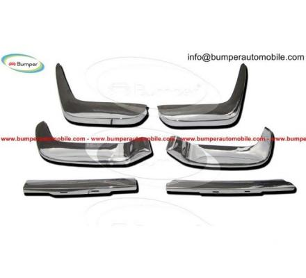 Volvo P1800 Jensen bumper kit new (1961–1963) stainless steel