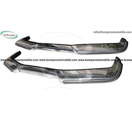 Volvo P1800 bumper kit new (1963-1973) stainless steel
