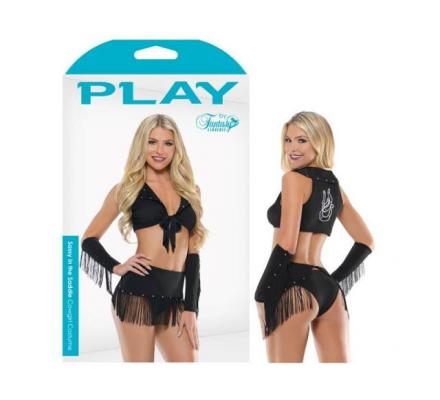Play Sassy In The Saddle Cowgirl Costume | Sexy Cowgirl Outfit
