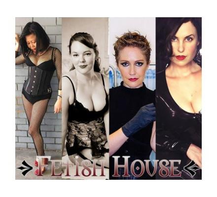 Today at Fetish House: Mistresses Audrey, Gala, Tamika and Cherry