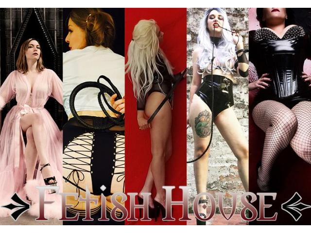 Today at Fetish House: Mistresses Alani, Zoe, Catalina, Tash and Samara