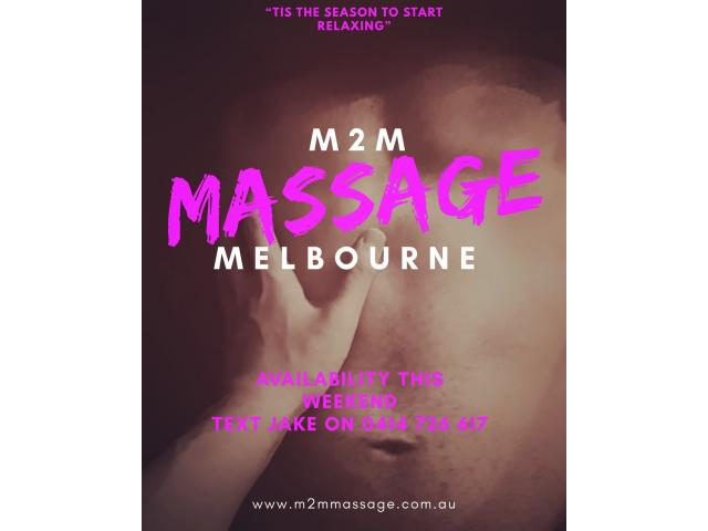 Melbourne's Best M2M Sensual + Tantric Massage (Incalls and Outcalls)