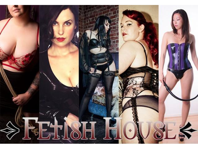 Today at Fetish House: Mistresses Savannah, Misty, Audrey, Cherry, Raven and Shiloh