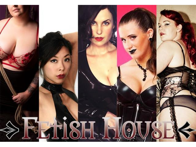 Today at Fetish House: Mistresses Savannah, Misty, Audrey, Cherry and Shiloh