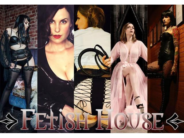 Today at Fetish House: Mistresses Alani, Zoe, Maddox, Audrey, Raven and Shiloh