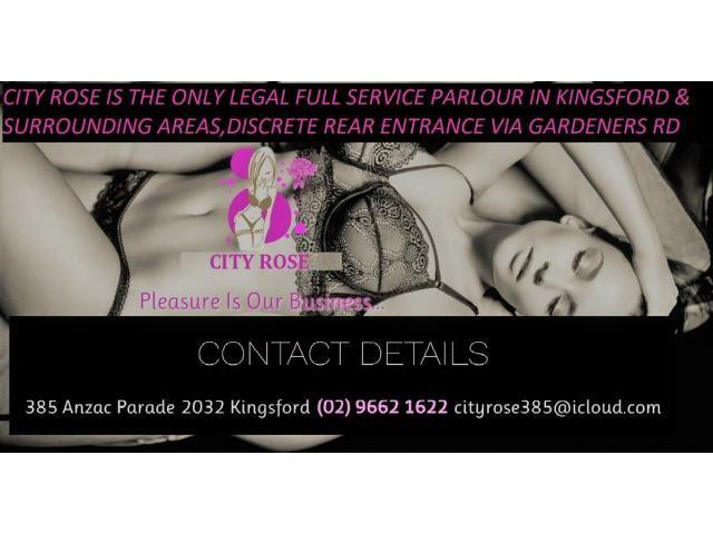 Boutique legal venue 10mins from CBD require full service ladies