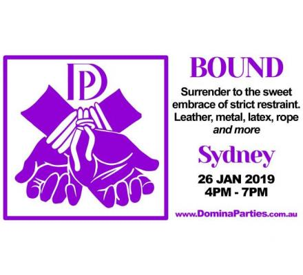 Sydney Bound To Please Domina Party ~ 26 Jan 2019