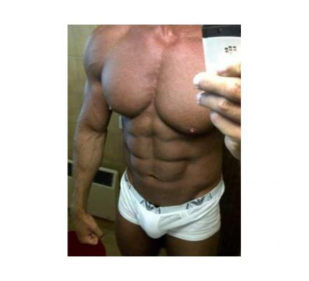 Hung muscle DILF in OZ