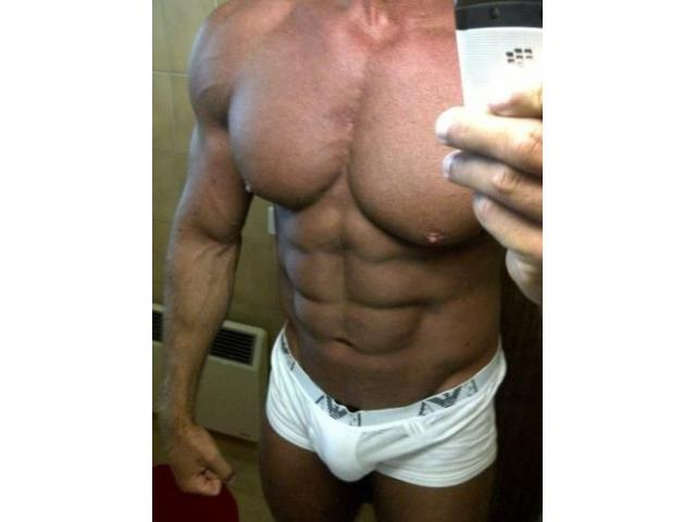 Hung muscle DILF in Melb