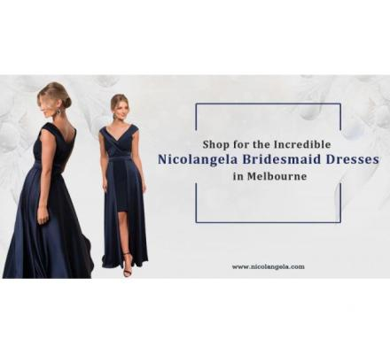 Buy Beautiful Bridesmaids Dresses in Melbourne
