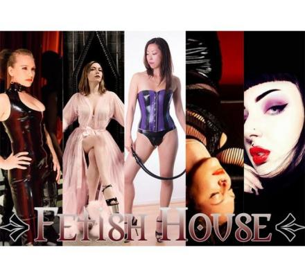 Today at Fetish House: Mistresses Alani, Salina, Misty, Jenna and Olivia