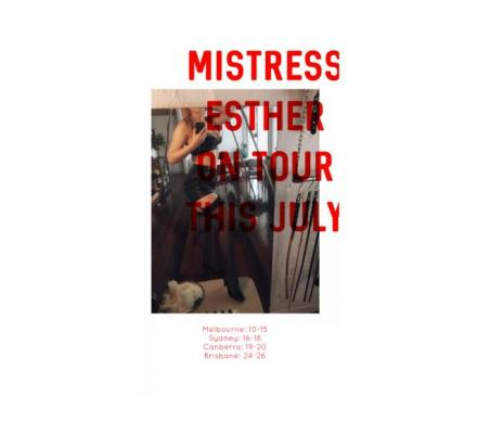 Today and Saturday xx MISTRESS ESTHER xx Lay yourself at My feet. Do you want to be My good boy? 💋