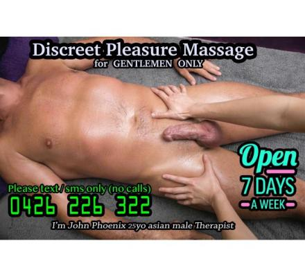 ❤️ Massage for MEN ONLY ❤️ by asian Male Masseur