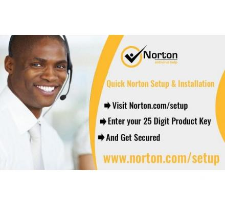 Here is the steps to download the Norton Setup
