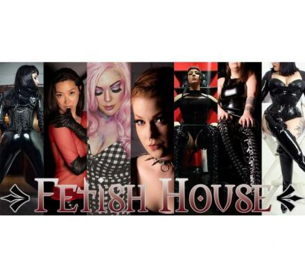 Today at Fetish House: Mistresses Raven, Misty, Cherry, Tash, Savannah, Shiloh and Olivia