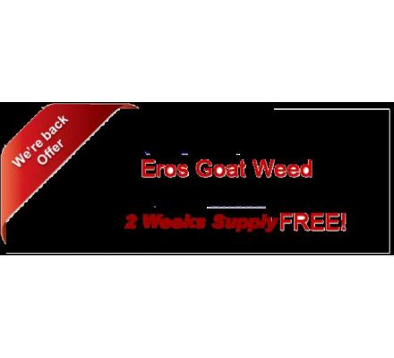 Eros Goat Weed —trusted worldwide as the natural male enhancement of choice Eros Goat Weed