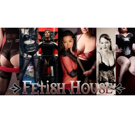 Today at Fetish House: Mistresses Misty, Raven, Cherry, Tash, Savannah, Shiloh and Olivia