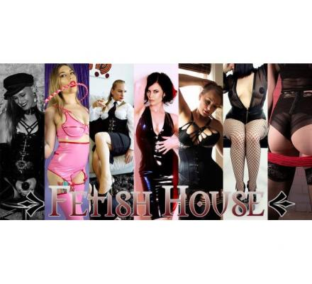 Today at Fetish House: Mistresses Alani, Fatale, Zoe, Salina, Andrie, Tash and Shiloh