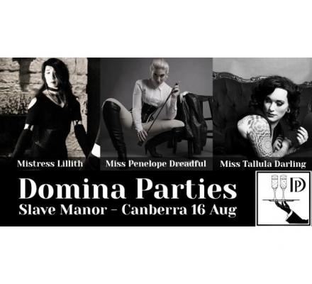 Canberra Slave Manor Fetish Party ~ 16 Aug 2019