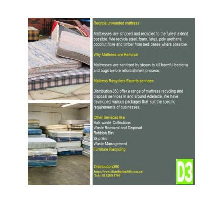 Mattress Recycling Services for Residential and Commercial Facilities