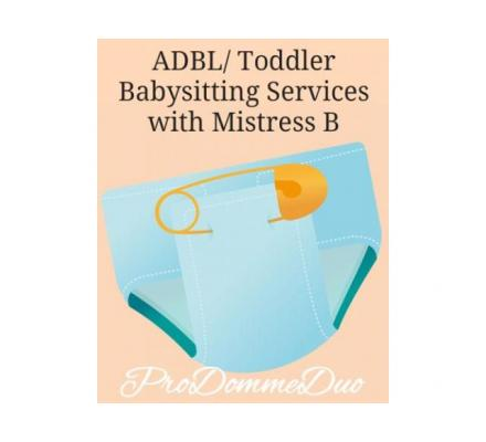 ADBL/ Toddler Roleplay Sessions with Mistress B