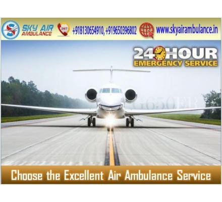 Select Air Ambulance from Gorakhpur with Advanced Medical System