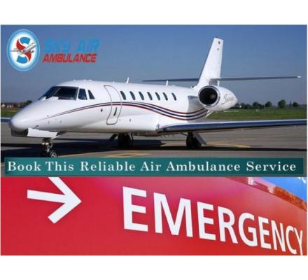Get Prompt Service Air Ambulance from Dibrugarh
