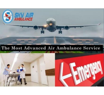 Take Air Ambulance from Darbhanga with Full Medical Amenities