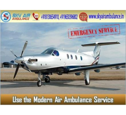 Use Air Ambulance from Kolkata with Trustful Medical Team