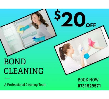 Bond Cleaning Starts From $119*