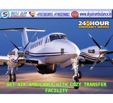 Avail 24 Hour Emergency Air Ambulance Service in Kochi at Low Cost