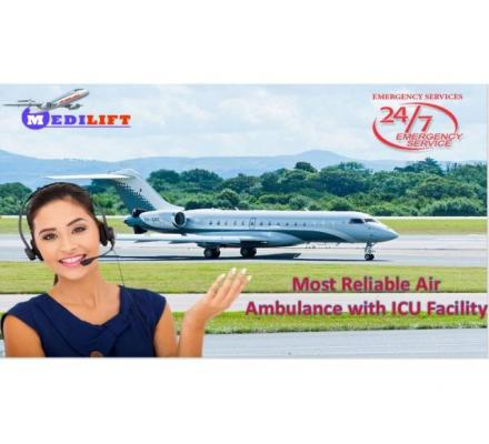 Medilift Provides the Best and Enhanced Air Ambulance Services in Siliguri