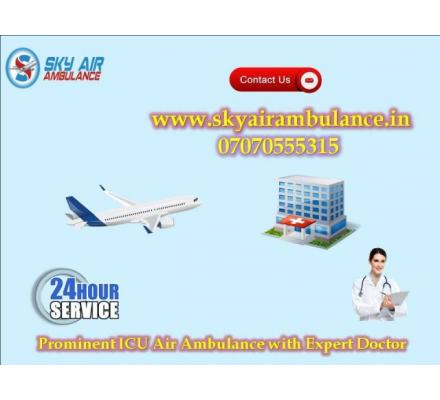 Immediate Patient Shifting from Bhubaneswar by Sky Air Ambulance