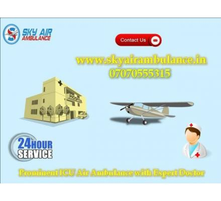 India's First ICU Setup Air Ambulance Provider in Bangalore